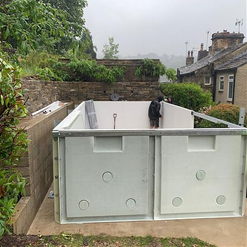 Exercise Pool Installation Yorkshire